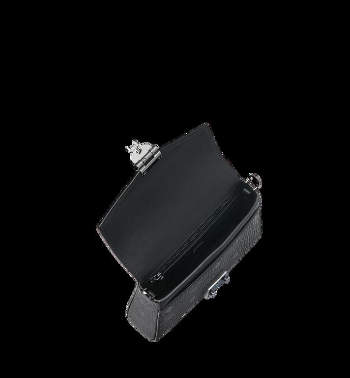 MCM Diamond Visetos Flap Crossbody Black MYZ9SVI12BK001 Alternate View 5