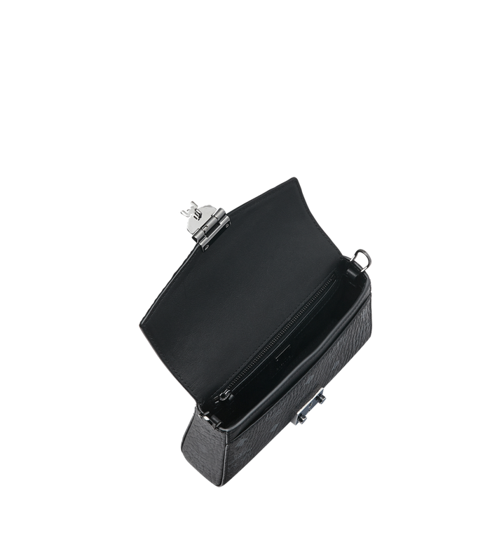 MCM Sac à bandoulière avec rabat Diamond en Visetos Black MYZ9SVI12BK001 Alternate View 5