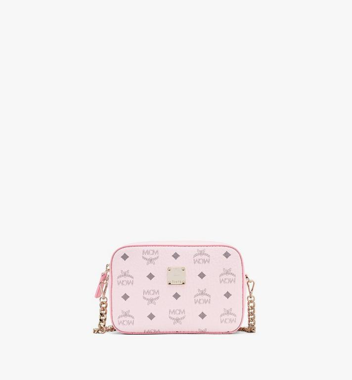 MCM Camera Bag in Visetos Pink MYZ9SVI97QH001 Alternate View 1