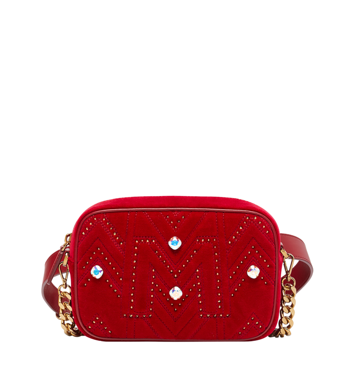 MCM Kameratasche in Velvet Crystal Studs Alternate View