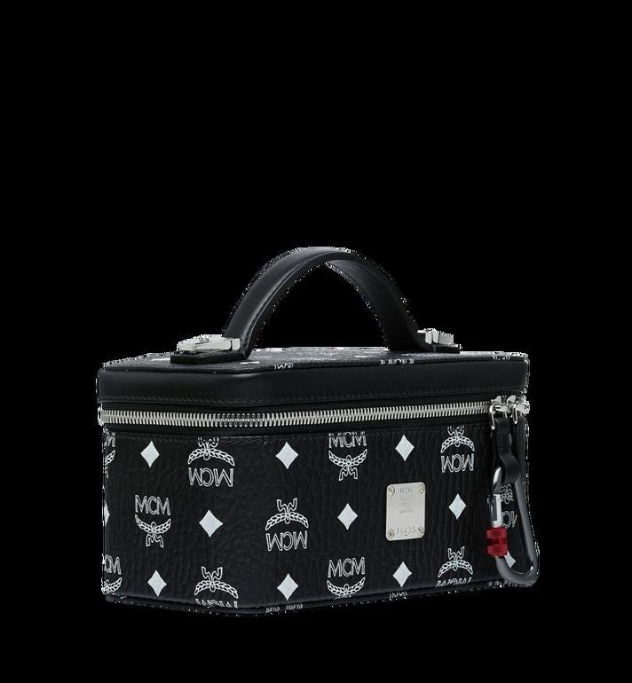 MCM Rockstar Vanity Case in White Logo Visetos Black MYZ9SWA01BV001 Alternate View 2