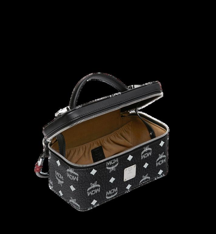 MCM Rockstar Vanity Case in White Logo Visetos Black MYZ9SWA01BV001 Alternate View 5