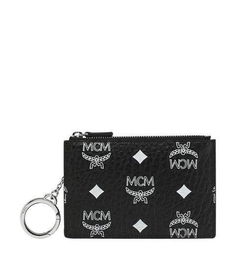 Key Pouch in White Logo Visetos