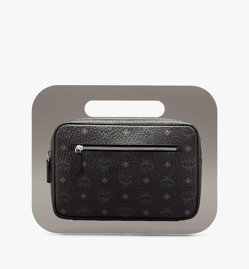 MCM x PHENOMENON Tasche in Visetos mit Acrylrahmen
