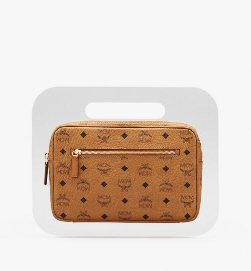 MCM by PHENOMENON Acrylic Disk Bag in Visetos