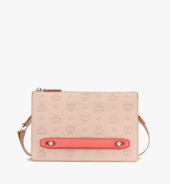 MCM Klara Crossbody Pouch in Monogram Leather  MYZASKM01II001 Alternate View 1