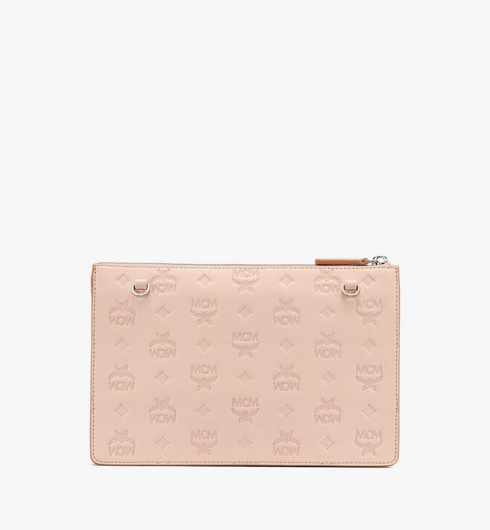 MCM Klara Crossbody Pouch in Monogram Leather  MYZASKM01II001 Alternate View 3