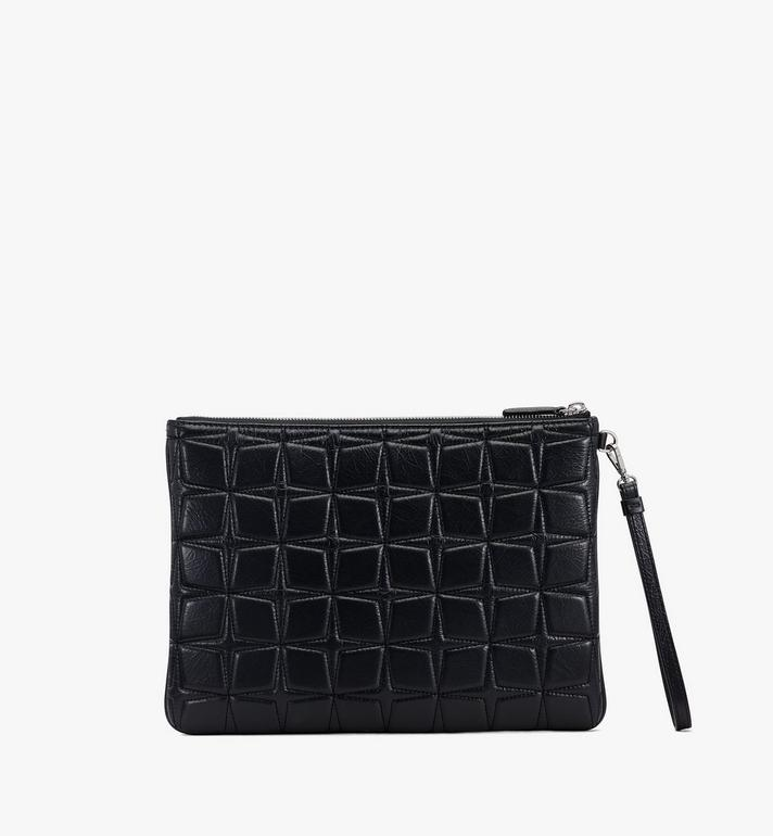 MCM Patricia絎縫皮革腕帶荷包 Black MYZASPA01BK001 Alternate View 2