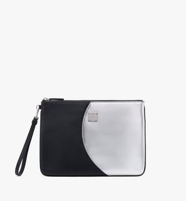 Essential Disco Wristlet Zip Pouch