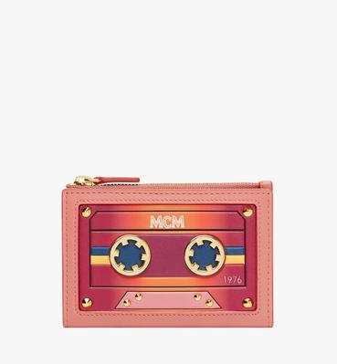 Coin Card Case in MCM Cassette
