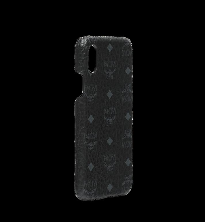 MCM iPhone X Case in Visetos Original Black MZE8AVI97BK001 Alternate View 2