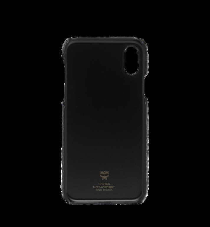 MCM iPhone X Case in Visetos Original Black MZE8AVI97BK001 Alternate View 3