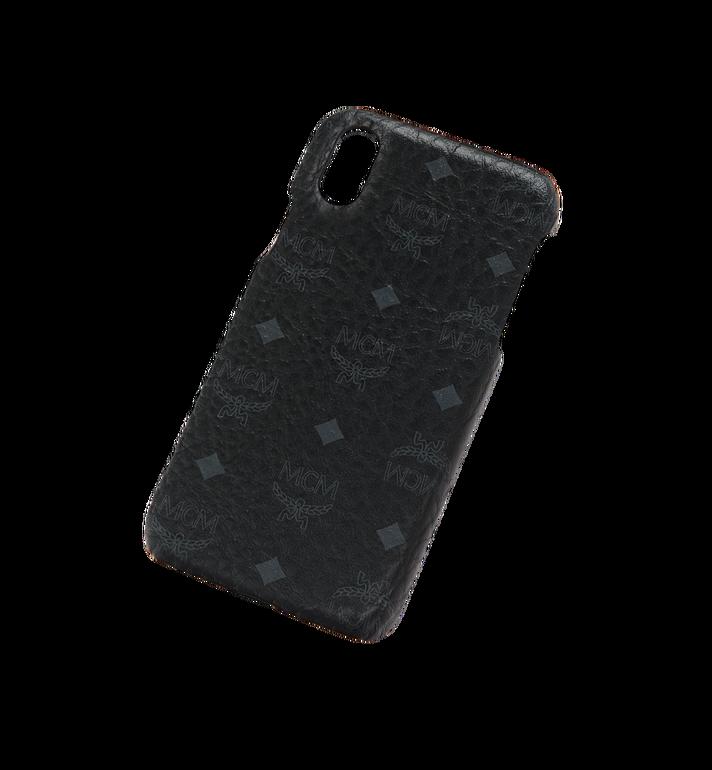 MCM iPhone X Case in Visetos Original Black MZE8AVI97BK001 Alternate View 4
