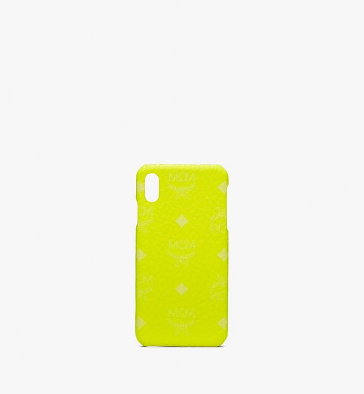 MCM Coque pour iPhone XS Max en Visetos Alternate View 1