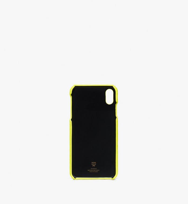 MCM Coque pour iPhone XS Max en Visetos  MZE9AVI39YN001 Alternate View 2