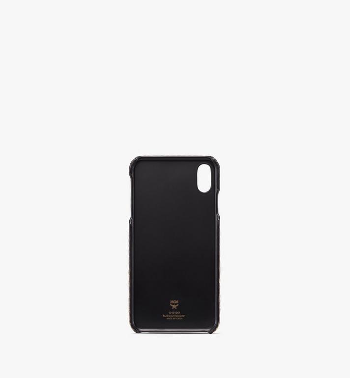 MCM iPhone XS Max Case in Gradation Visetos Alternate View 2
