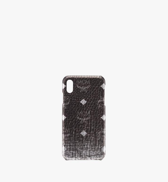 MCM Visetos 多層次 iPhone XS 手機殼 Silver MZE9AVI49SV001 Alternate View 1