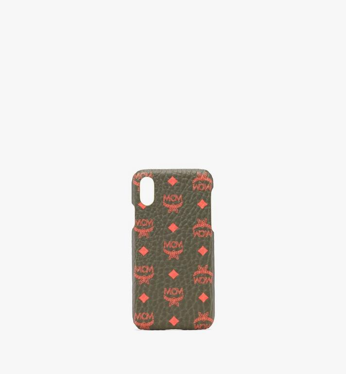 MCM Coque pour iPhone X/XS en Visetos Alternate View