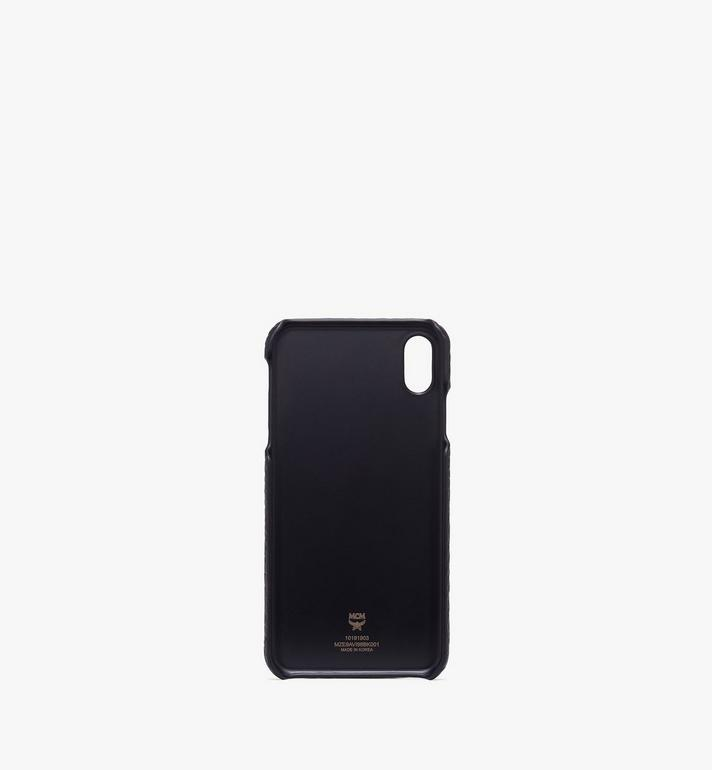 MCM iPhone XS Max Case in Visetos Black MZE9AVI98BK001 Alternate View 2