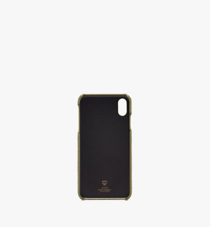 MCM iPhone XS Max Case in Visetos  MZE9AVI98G8001 Alternate View 2