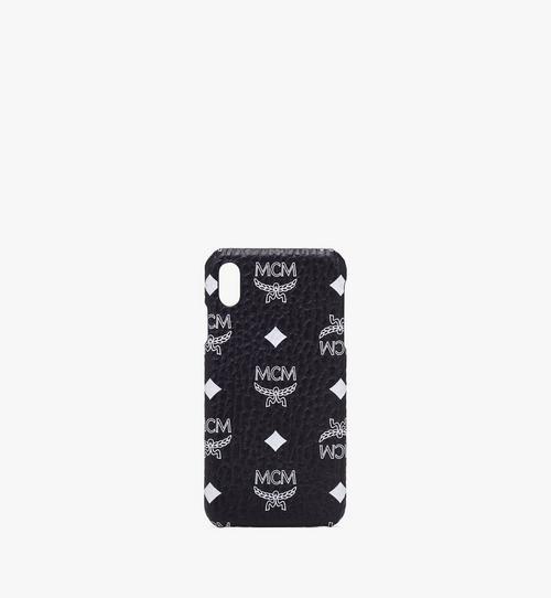 Coque pour iPhone XS Max en Visetos à logo blanc