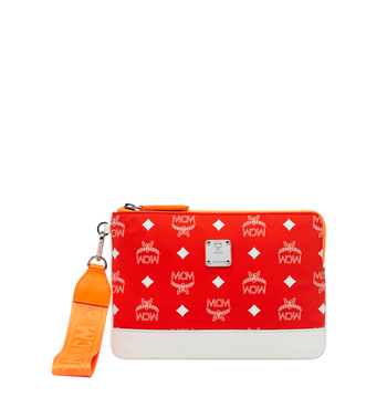 MCM Resnick iPad Mini Hülle aus Nylon mit Logo Alternate View