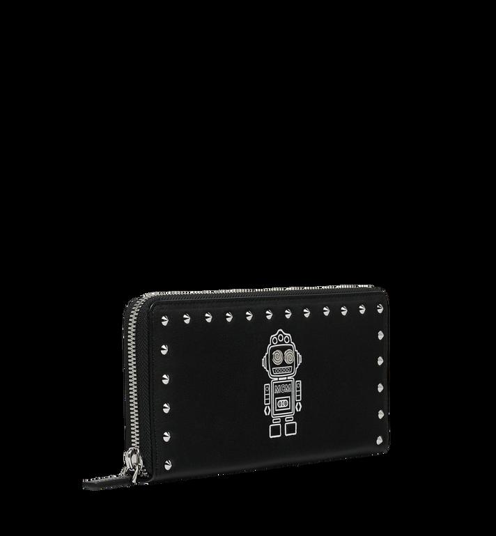 MCM Roboter Brieftasche mit Rundumreissverschluss aus Nappaleder Alternate View 2