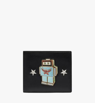 Robot Bifold Wallet in Nappa Leather