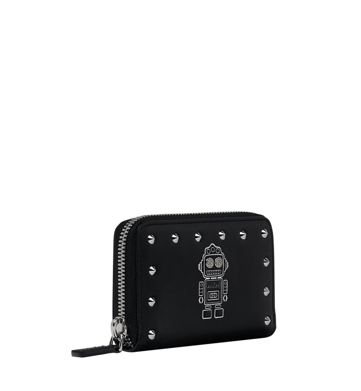 MCM Roboter Zipped Card Wallet in Nappa Leather Alternate View 2