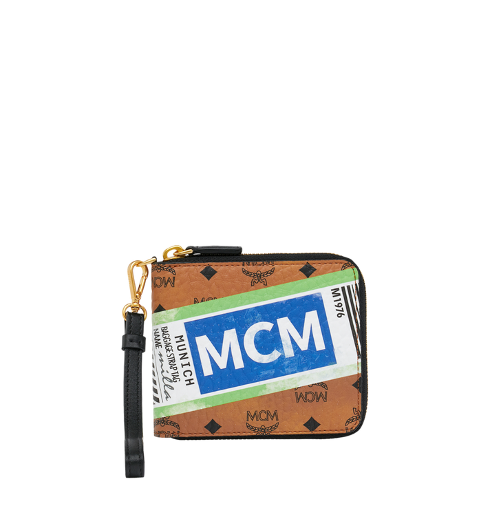 MCM Zip Wallet in Flight Print Visetos Alternate View