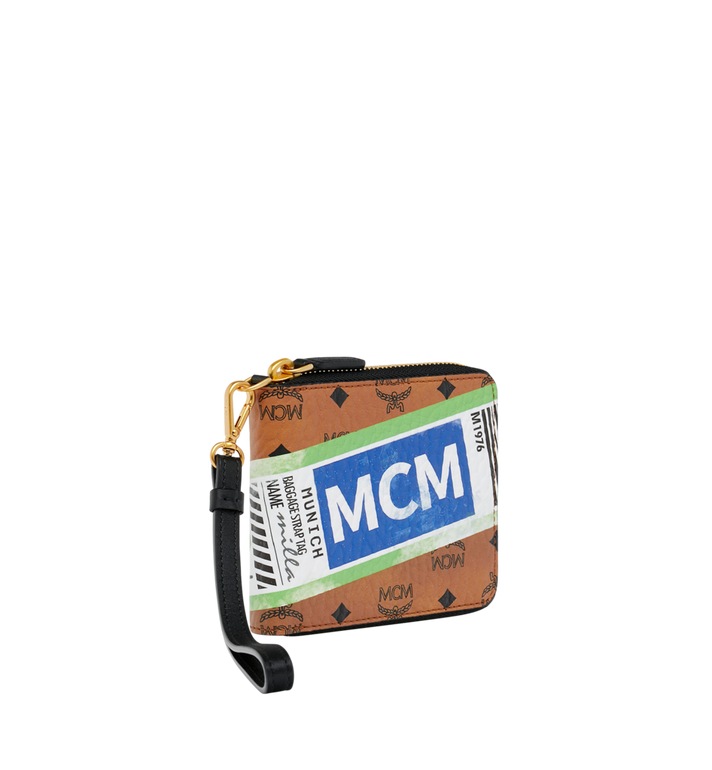 MCM Zip Wallet in Flight Print Visetos Alternate View 2