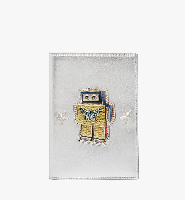 Roboter Passport Holder in Nappa Leather