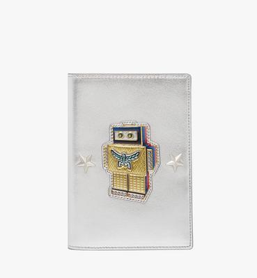 机器人系列小牛皮护照包