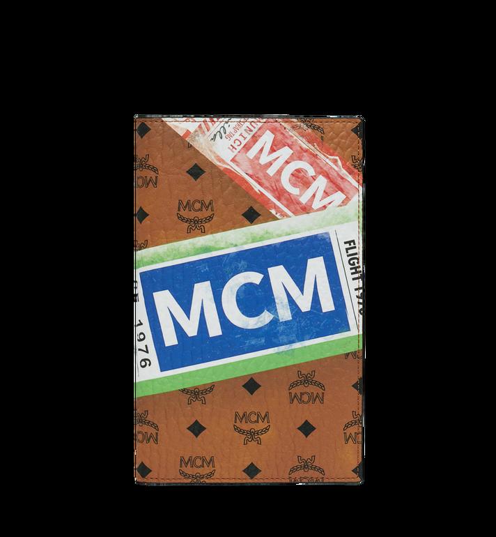 MCM Porte-passeport en Visetos Flight Print Alternate View