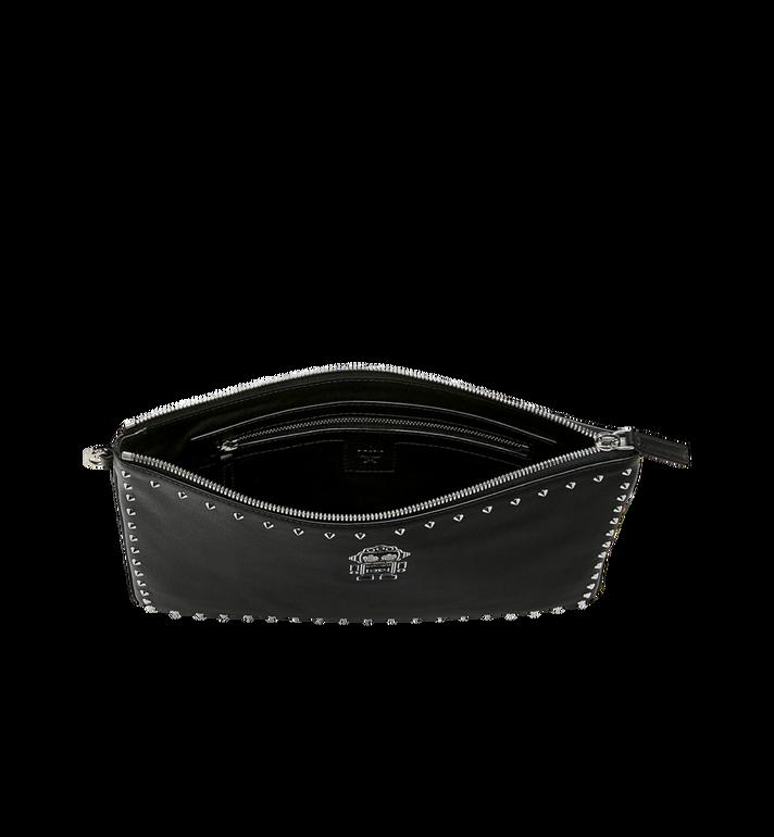 MCM Roboter Reissverschlussbeutel mit Handgelenksband aus Nappaleder Alternate View 4