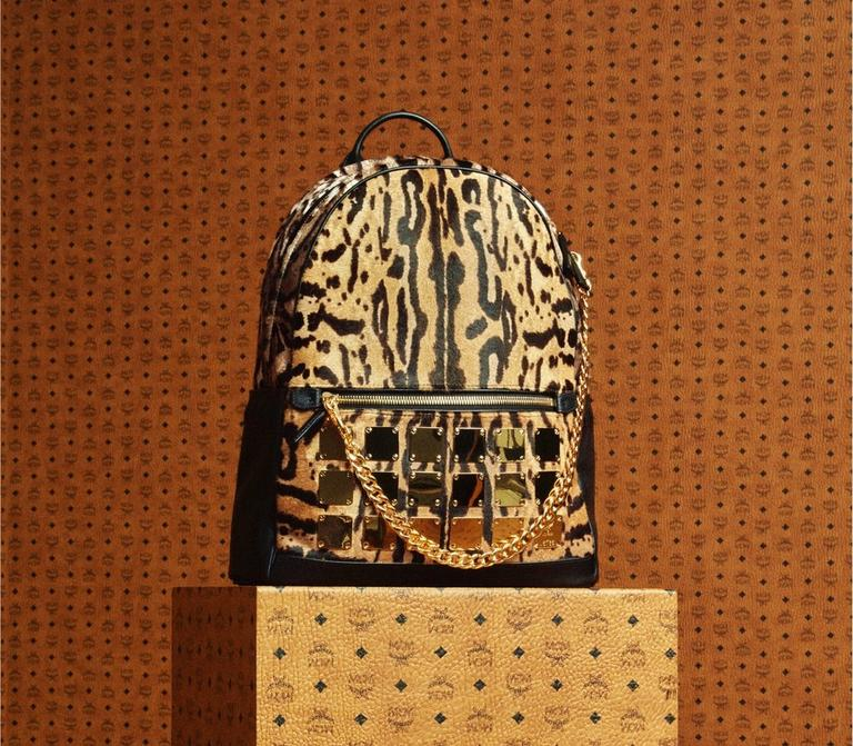 AW18 Leopard Backpack
