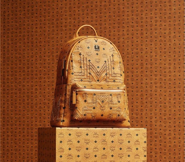 AW18 Stark Backpack in Gunta M Studs Visetos