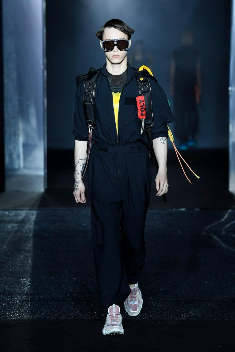 SS19 LUFT RUNWAY LOOK AT PITTI UOMO