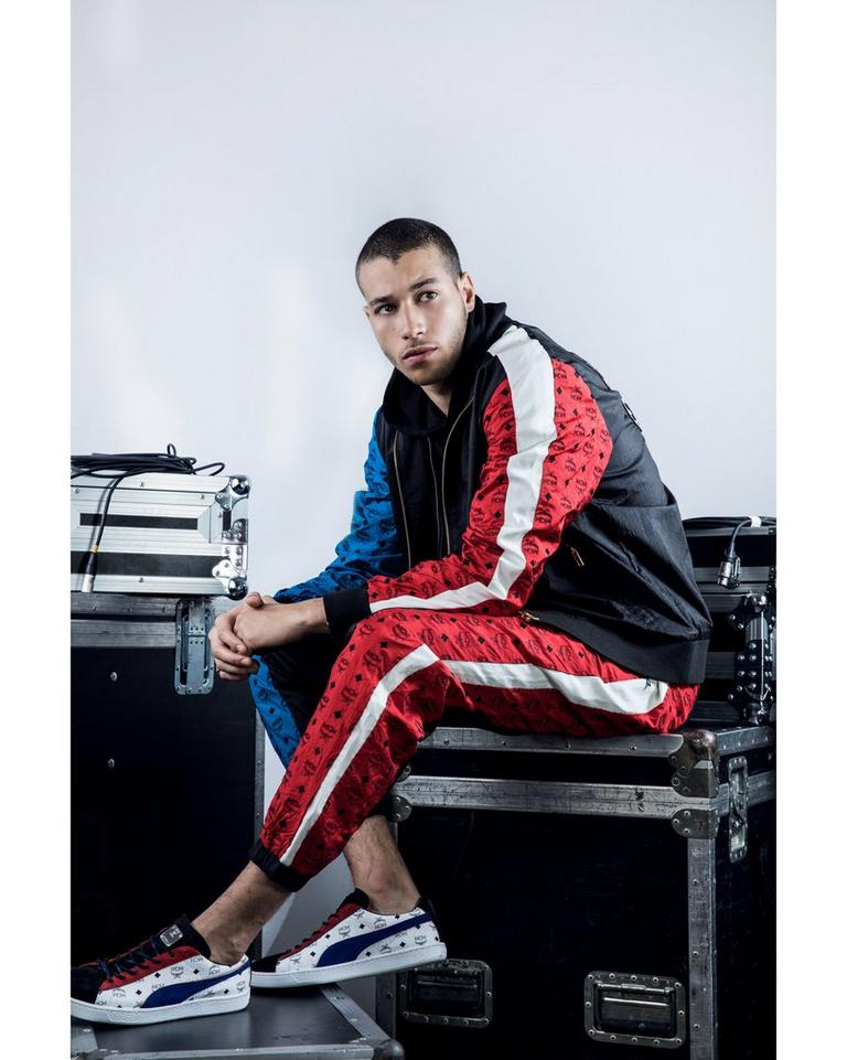 Puma x MCM Collection Red-Blue (Multi) Tracksuit