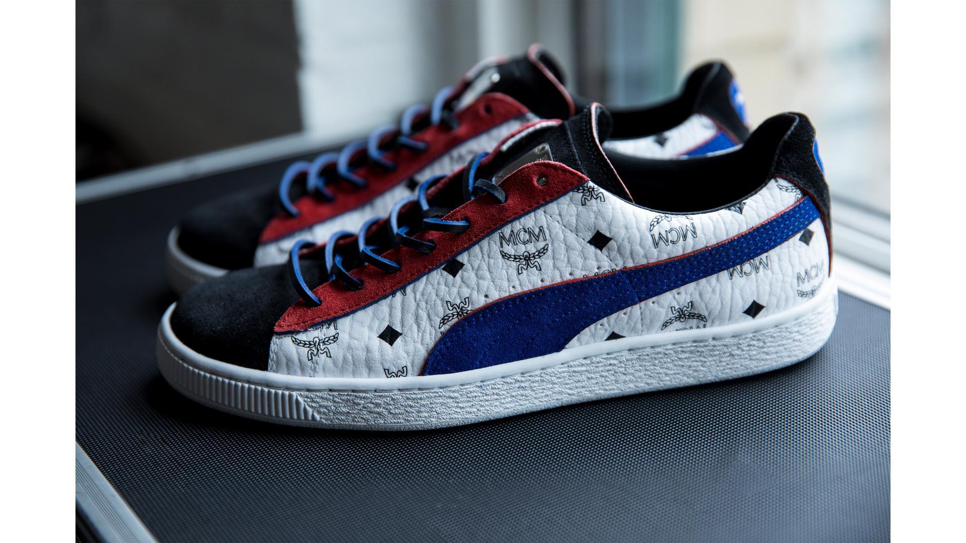 PUMA x MCM Multi Sneaker
