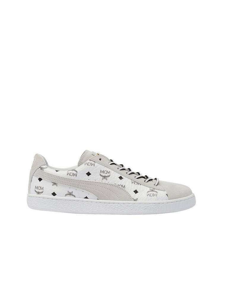 SUEDE CLASSIC SNEAKERS - White