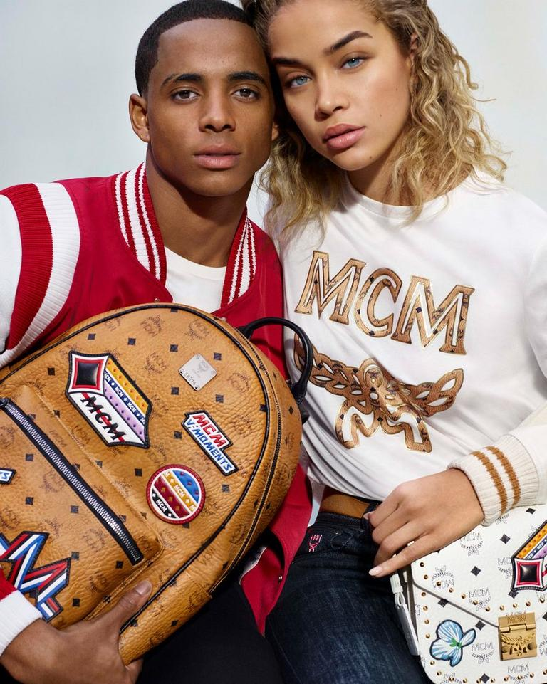 Cordell Broadus and Jasmine Sanders with the Victory Patch Assortment
