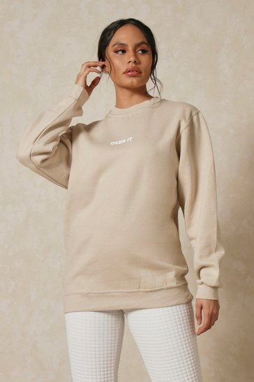 Stone Extreme Oversized Over It Sweatshirt