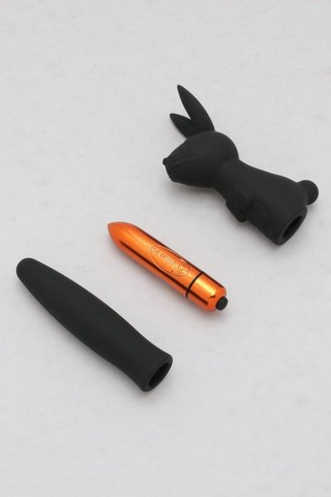 Black Rabbit And Vibrator Set