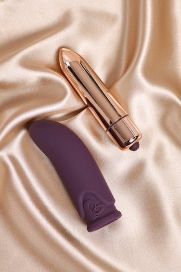 Purple  Vibrator And G-spot Stimulator Set