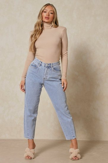 Vintage blue Balloon Fit Tapered Leg Jean