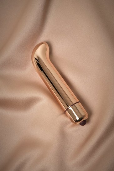 Rose gold G Spot Metallic Vibrator