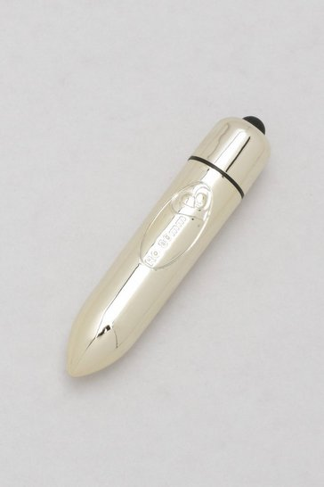 Gold Chrome Metallic Bullet Vibrator