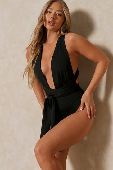 Black Multiway Swimsuit