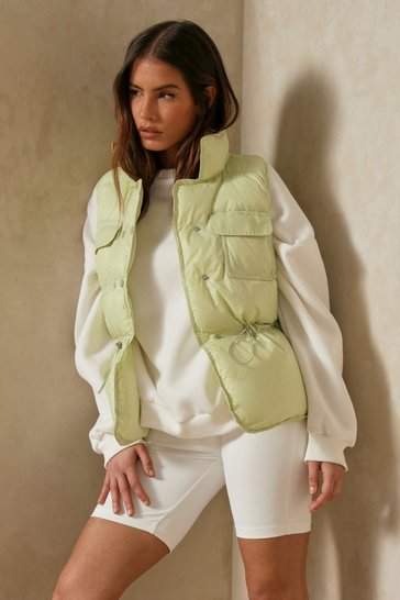 Mint Sleeveless Gilet